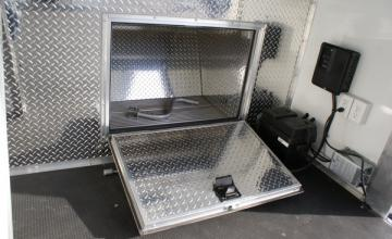 Enclosed Gooseneck Tool Box