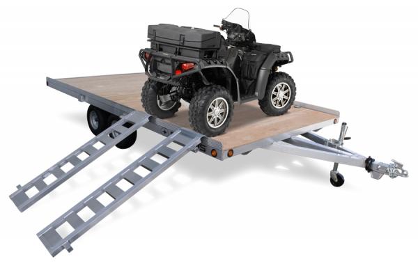 Open ATV 88 Wide Wood Deck